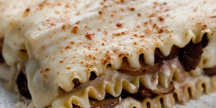Marsala Mushroom Lasagna