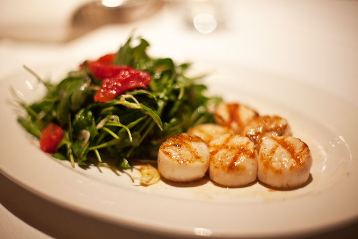 Recipe: Grilled Scallops with Marsala Vinaigrette