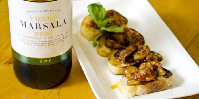 Recipe: Eggplant Marsala Caponata