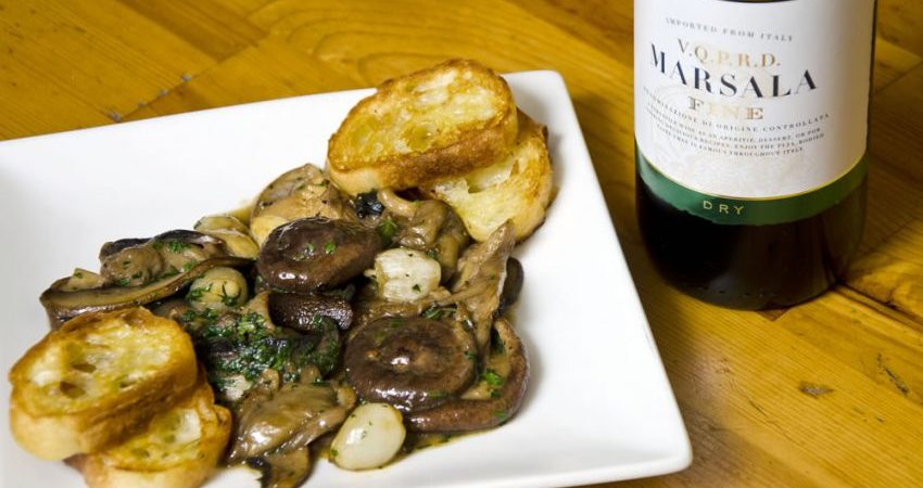 Recipe: Glazed Marsala Mushrooms