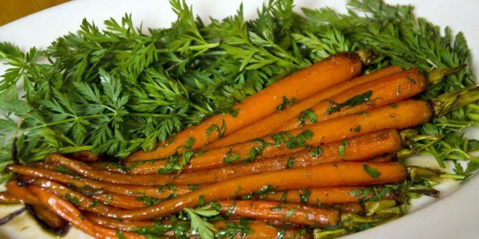 Carrots with Marsala Glaze Recipe