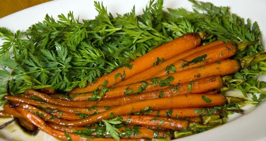 Carrots with Marsala Glaze Recipe