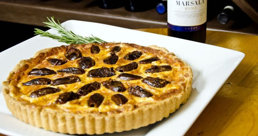 Mascarpone & Colombo Marsala Savory Crostata Recipe
