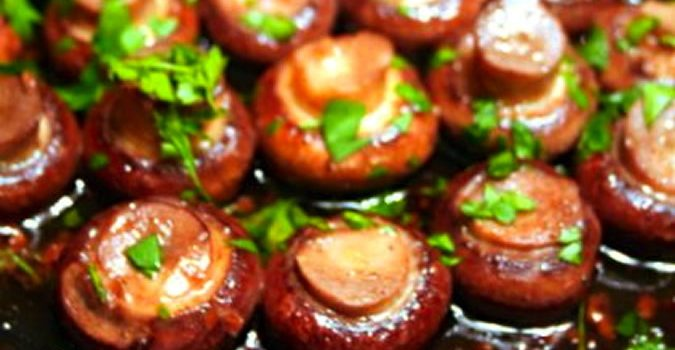 Marsala and Garlic Mushrooms Recipe