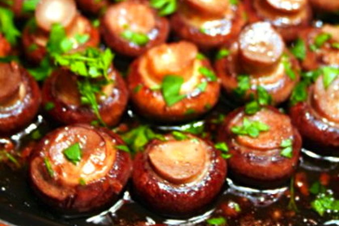 Marsala and Garlic Mushrooms Recipe